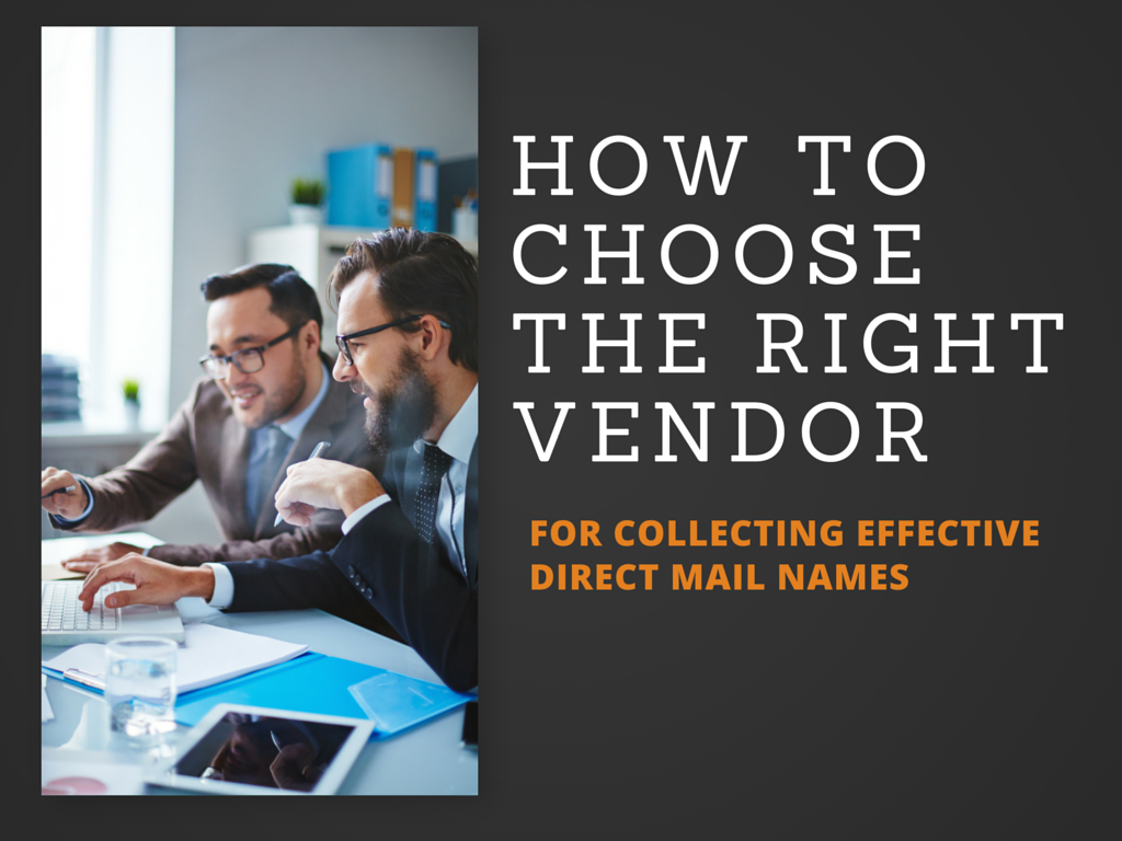 Key Questions to Help You Choose the Right Direct Mail Vendor Solution