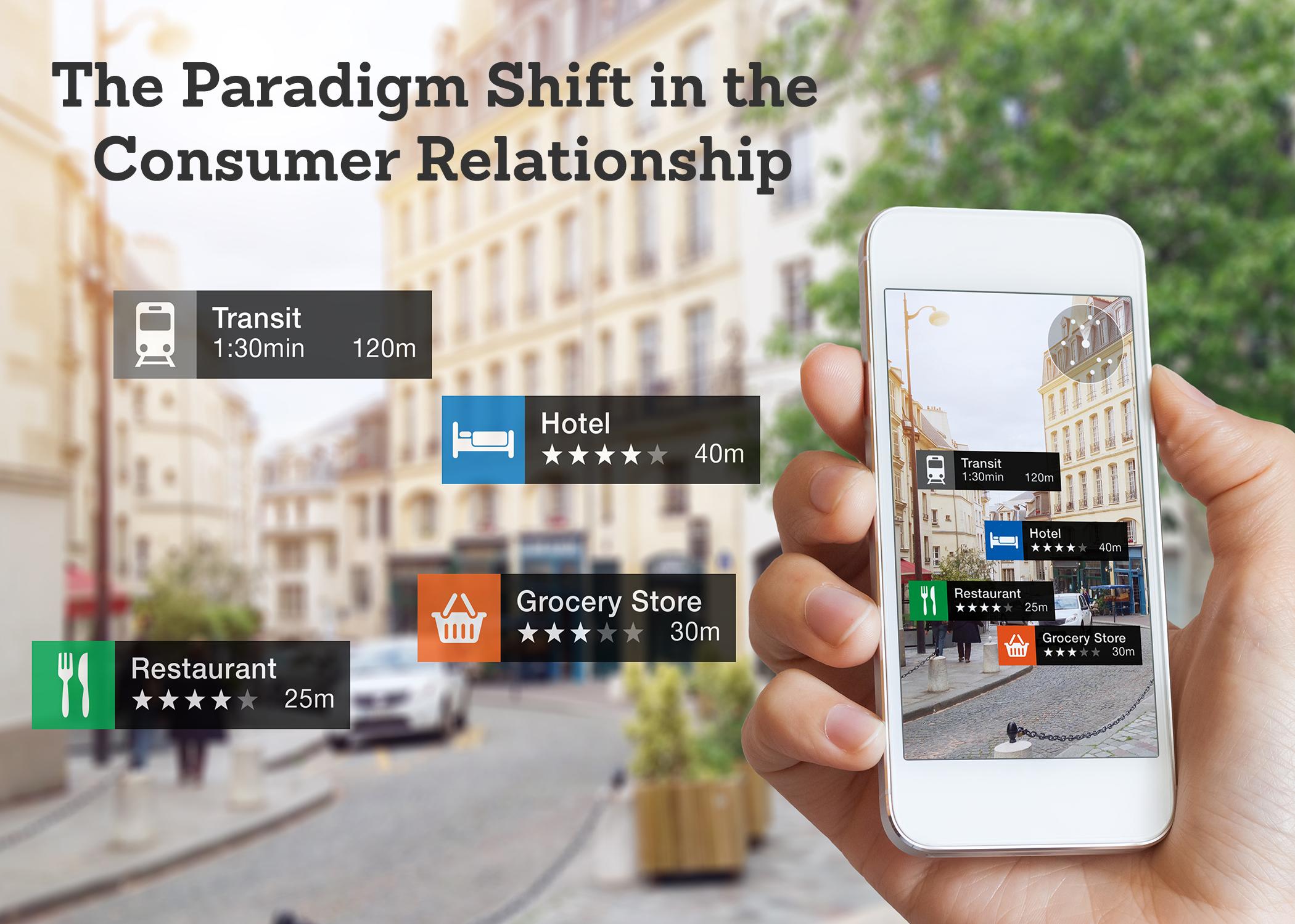 Consumer Relationship Paradigm Shift