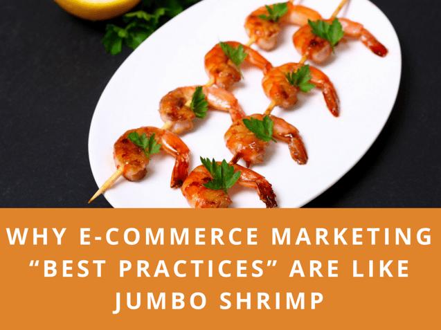 E-commerce best practices jumbo shrimp
