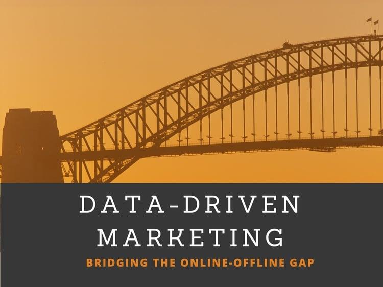 Data-Driven Marketing: Bridging the Online-Offline Gap