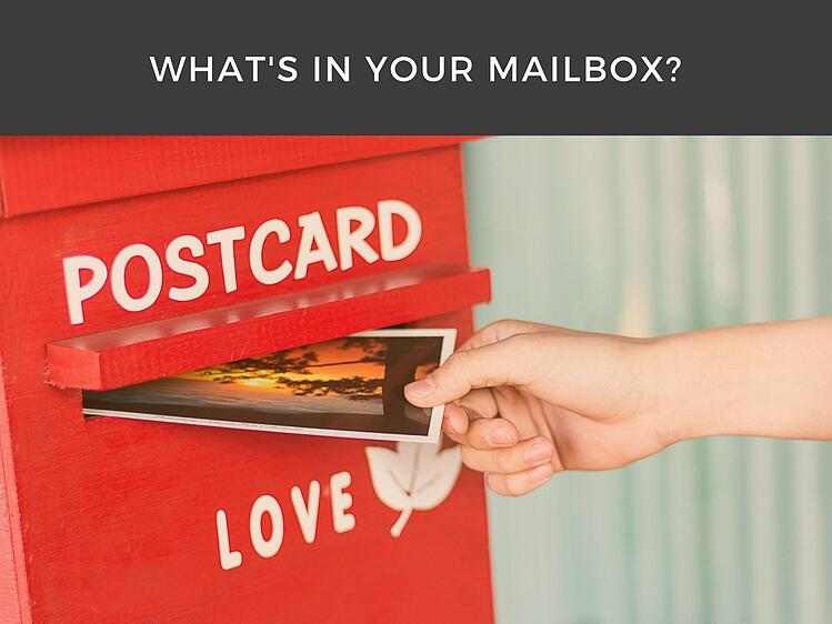 What's In Your Mailbox? Programmatic Postcards