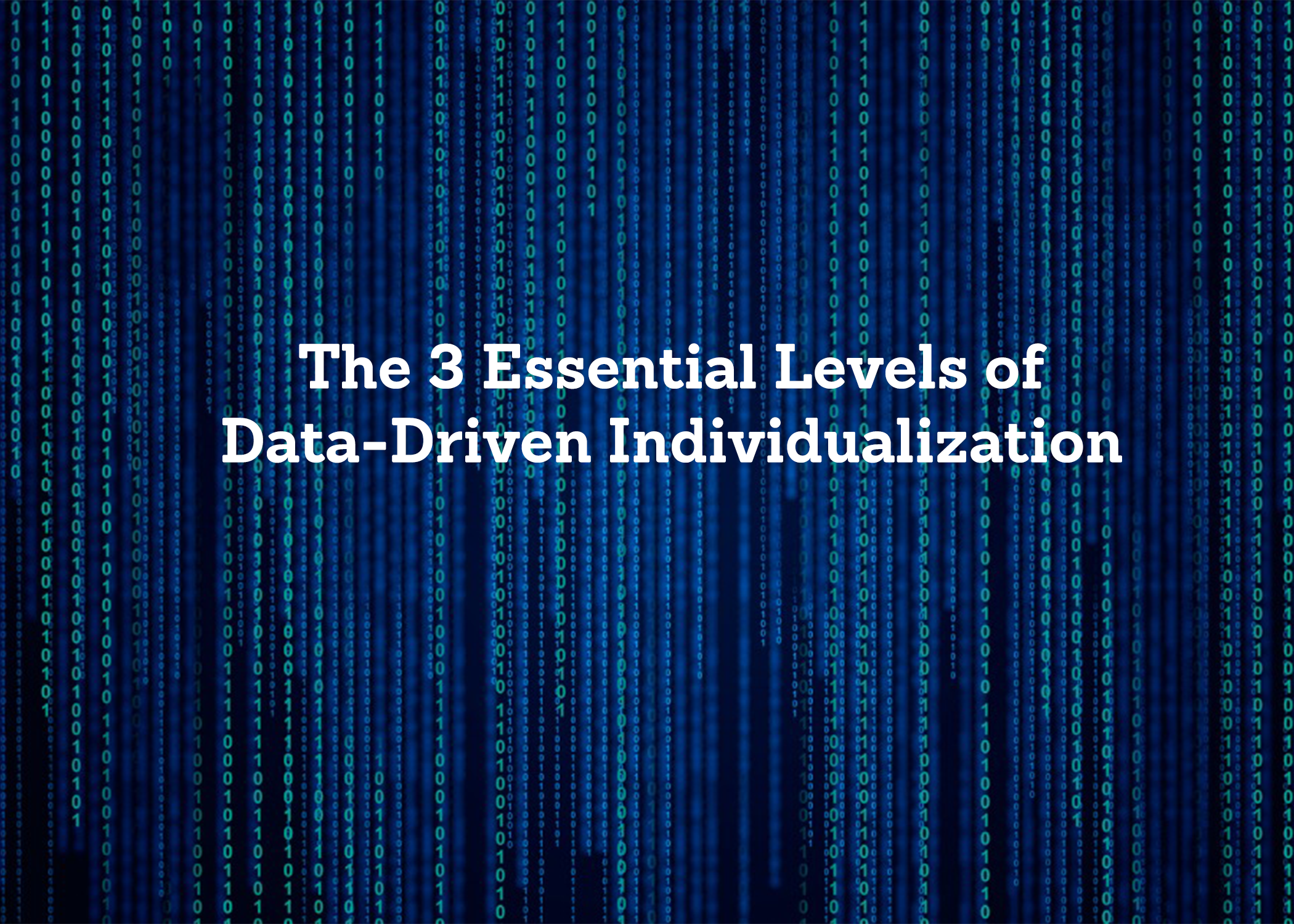 The Three Essential Levels of Data Driven Indi 2