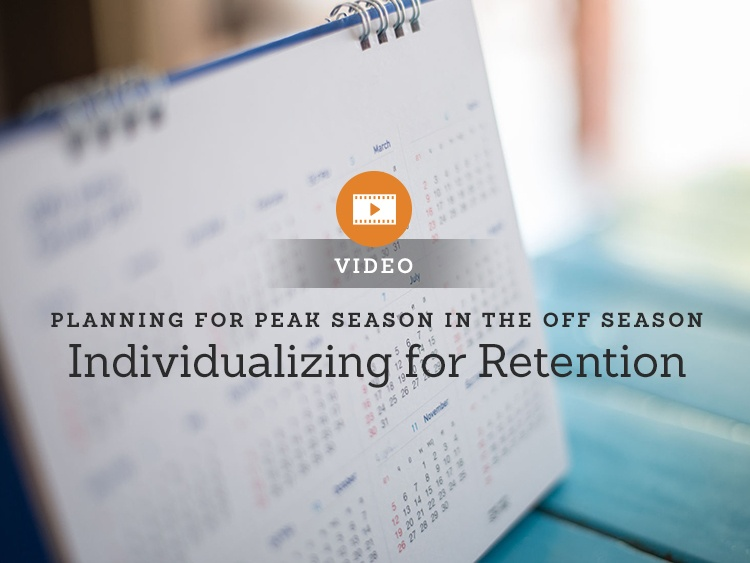 Marketing in a Minute — Individualizing for Retention