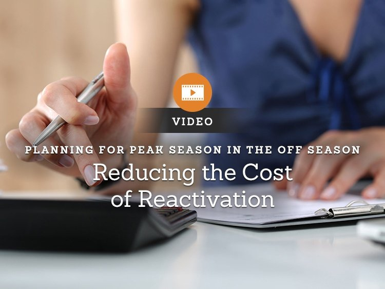 Marketing in a Minute — Reducing the Cost of Reactivation
