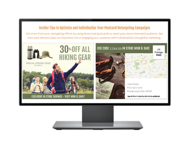 Insider Tips to Optimize and Individualize Your Postcard Retargeting Campaign