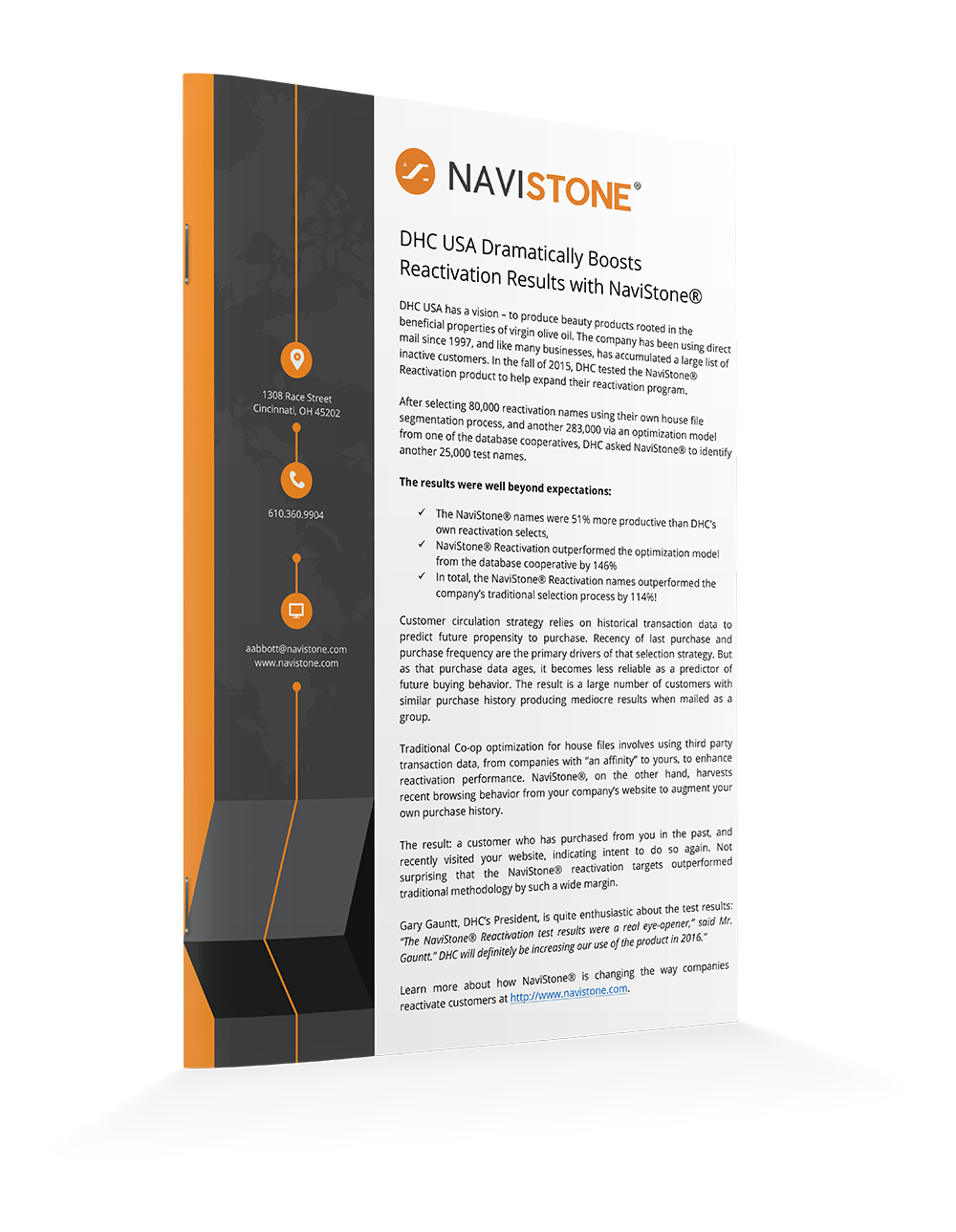 DHC USA Dramatically Boosts Reactivation Results with NaviStone®